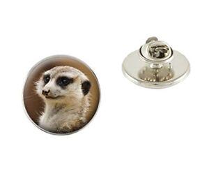 Meerkat 25mm Metal Pin Badge Tie Pin Brooch Ideal Birthday Gift N52