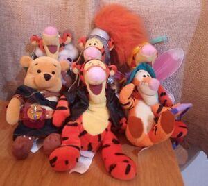 Winnie The Pooh Tigger Bundle Beanie Inc Motorcycle Tigger + Sir Bounce A Lot