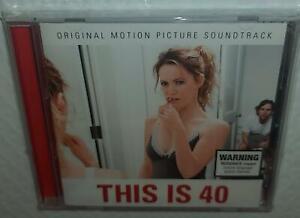 VA THIS IS 40 SOUNDTRACK (2012) BRAND NEW AUSTRALIAN ISSUED CD NORAH JONES