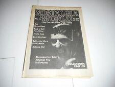 #15 NOSTALGIA WORLD magazine (UNREAD) - BARNABAS - DARK SHADOWS