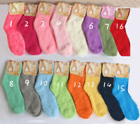 Ladies Harajuku Fluffy Socks Winter Warm Soft Cosy Lounge Bed Socks Gift