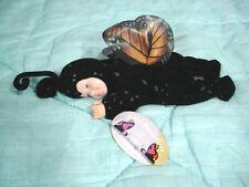 Unimax Anne Geddes Black Butterfly MonarchToy Baby Doll-Stuffed Soft Cloth Body