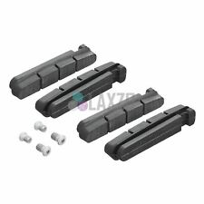 Shimano Brake Pads Shoes Black with Bolts R55C+1 Dura-Ace Ultegra & 105 - 2 Pair