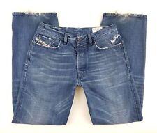 Diesel Quratt Jeans Mens Size 30 x 32 Tag 34 Italy Straight Leg Med Button Mid