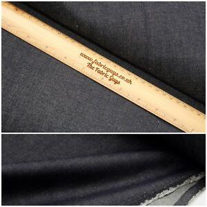 """Heavy Premium Denim Fabric,13oz 440GSM,Indigo,High Quality,Crafts,Clothing ,58"""""""