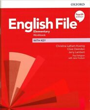 More details for oxford english file elementary workbook with key 4th edition 9780194032896