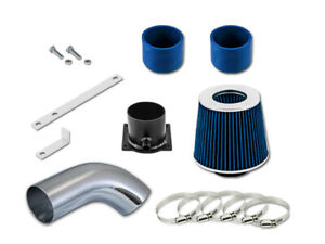"""For 96-00 Audi A4 / A6 / Cabriolet GSP 3"""" BLUE Short Ram Air Intake Kit Filter"""