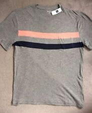 Gap Loose Fit Striped T-Shirts for Men