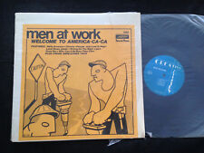 LIVE LP Men At Work Nom De Plume 1282 Welcome To America-Ca-Ca