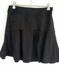 ATHLETA Sports Skirt Skort Black with Pocket Tennis Fitness Rumba Size 2 (XS)