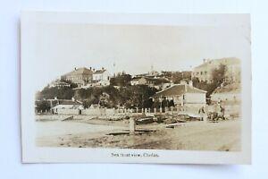 China, Chefoo, Yantai, Sea Front View, 1920's RP Postcard