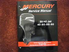 DEALER MANUAL--MERCURY/MARINER SERVICE MANUAL