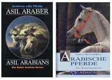 Araber Pferdebuch Paket, 2 Bücher im Set: Asil Araber V + Arabische Pferde NEU