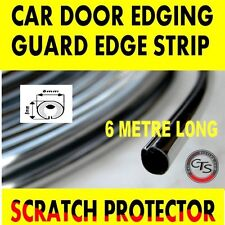 6m CHROME CAR DOOR GRILLS EDGE STRIP PROTECTOR PEUGEOT 307 308 4007 406 407 HDI