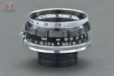 Excellent-! Nikon NIKKOR-W.C 35mm f/1.8 for Nikon S Mount Rangefidner