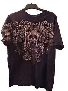 Affliction Signature Series T Shirt. Size Large. Fedor emelianenko. Mma ufc