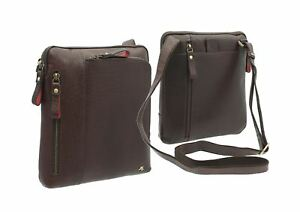 Visconti Merlin Collection ROY Leather Cross Body / Messenger Bag ML20