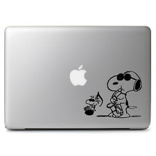 Peanuts Snoopy Jazz Music Decal Sticker for Macbook Laptop Dell HP Car Window