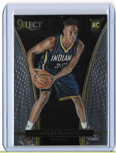 2015-16 Panini Select Courtside Myles Turner #246 Rookie