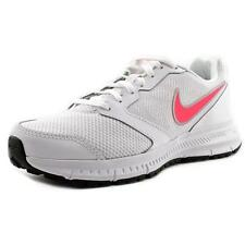 Nike Downshifter 6 MSL Women's Sports Sneaker Runners Trainers White Punch 3 5