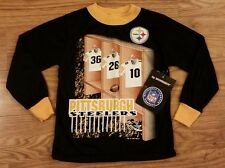 Vintage NFL Wormser Youth Small 4-5 Pittsburgh Steelers Childrens Sweater