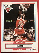 1990-91 Fleer #26 MICHAEL JORDAN Chicago Bulls *Iconic Card* HOF Vintage Mint