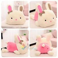 Cute Bunny Soft Plush Toys Rabbit Stuffed Animal Baby Kids Gift Animals Doll A