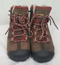 MEN'S DETROIT MID STEEL TOE size 10M brown leather red Shoes Boots