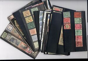 BRITISH COLONIES,  SEYCHELLES, Excellent assortment of Stamps in stock cards