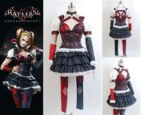 Batman Arkham Asylum City - Harley Quinn Cosplay Fancy Dress Costume