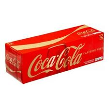 Coca Cola Caffeine Free Soda 12 oz Cans (Pack of 12) FREE SHIPPING