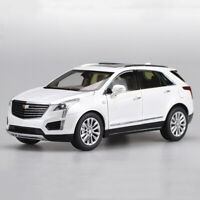 1/18 Scale CADILLAC XT5 2016 SUV White Diecast Car Model Collection Toy Gift