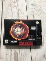 NBA Jam Tournament Edition Super Nintendo SNES Box Only No Game
