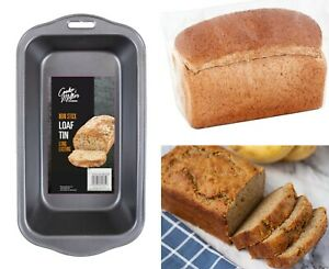 New Large NON STICK LOAF TIN Baking Pan Bread Loaf Cake Oven Tray Tin Steel UK