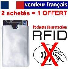 Etui protection pour Carte de crédit NFC RFID ..sans contact visa mastercard CB