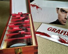 DEXTER: The Complete Series Limited Edition DVD Gift Set Blood Slide Box & Book!