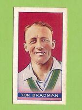 #D8.  ABOUT 1934 SPORTSMEN OF THE WORLD PART SET, DON BRADMAN