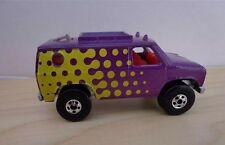 Hot Wheels BAJA BREAKER VAN   FORD VAN    NICE  Purple with Yellow Dots