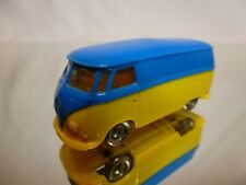 LEGO DENMARK - VINTAGE VOLKSWAGEN  T1 BUS 1:87 BLUE YELLOW  - GOOD CONDITION