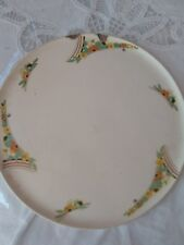 Round  Pottery Plate/ by H&K. Tunstall   appx 1930 +   2 chipped on edge