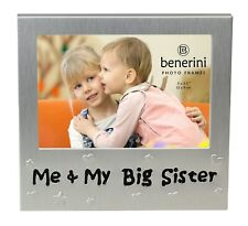 Me & My Big Sister Photo Picture Frame Birthday Christmas Elder Sibling Gift Ide