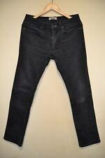 Acne Studios Men's Jeans Pants Black Max Cash Skinny Slim Size W31/ L32
