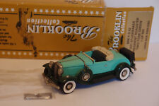 BROOKLIN BRK FS-02 1931 STUDEBAKER PRESIDENT ROADSTER TWO TONE GREEN 1/43