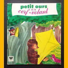 Collection Bébé-Livre PETIT OURS ET LE CERF-VOLANT Janice Udry H. Depper 1972