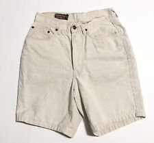 """Vtg High Waisted Shorts Womens By Malboro Classics Preowned Button Fly 26"""" W"""