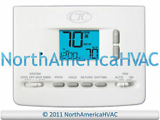 CTC 61152P Digital  5/2 Day Programmable Thermostat 1H/1C 1 Heat 1 Cool