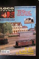 MODELISME FERROVIAIRE TRAIN MAGAZINE LOCO REVUE N° 605 de 1997