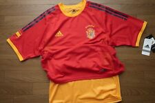 Spain 100% Authentic Player Issue Soccer Jersey Shirt M World Cup 2002 NEW