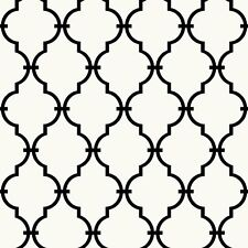 Rmk9018Wp Modern Trellis Peel and Stick Wallpaper Free Shipping