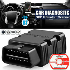 Bluetooth Wireless OBDII Auto Car Fault Diagnostic Scanner For iPhone Android US